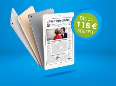 Täglich digital lesen + Tablet Ihrer Wahl