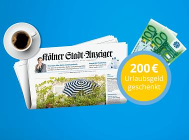 24 Monate täglich lesen + 200 € geschenkt