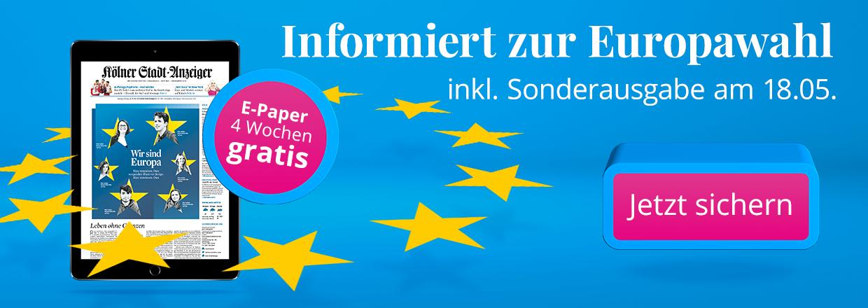 Stadt-Anzeiger E-Paper zur Europawahl